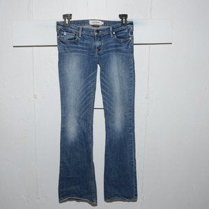 Abercrombie flare girls jeans size 16